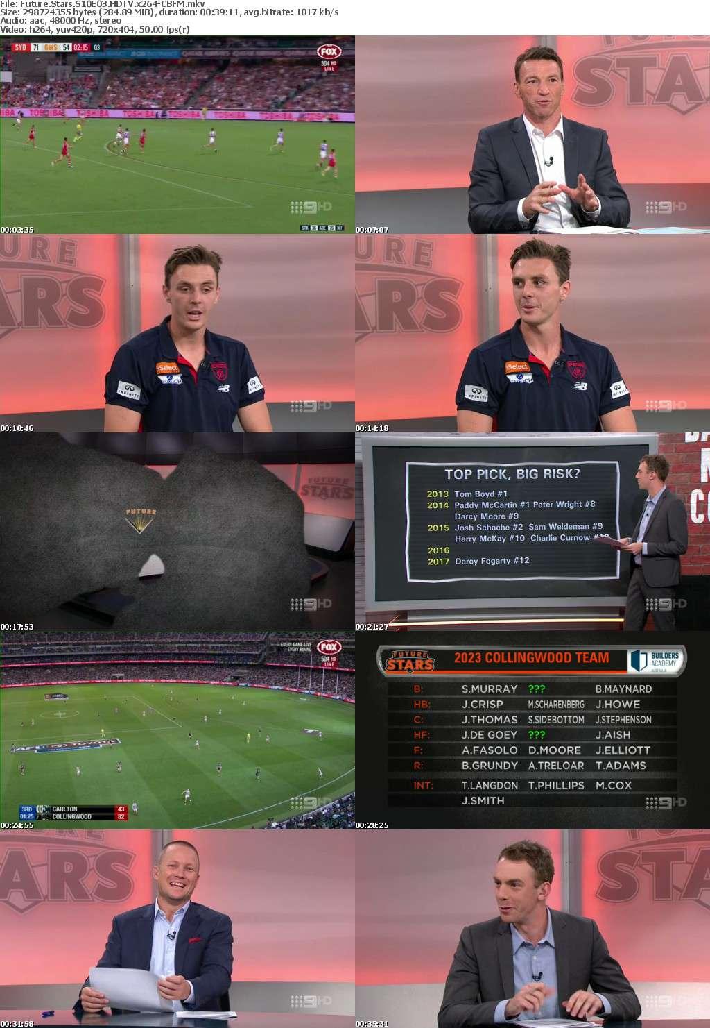 Future Stars S10E03 HDTV x264-CBFM