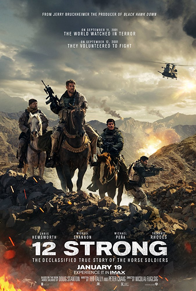 12 Strong (2018) [BluRay] [720p] YIFY
