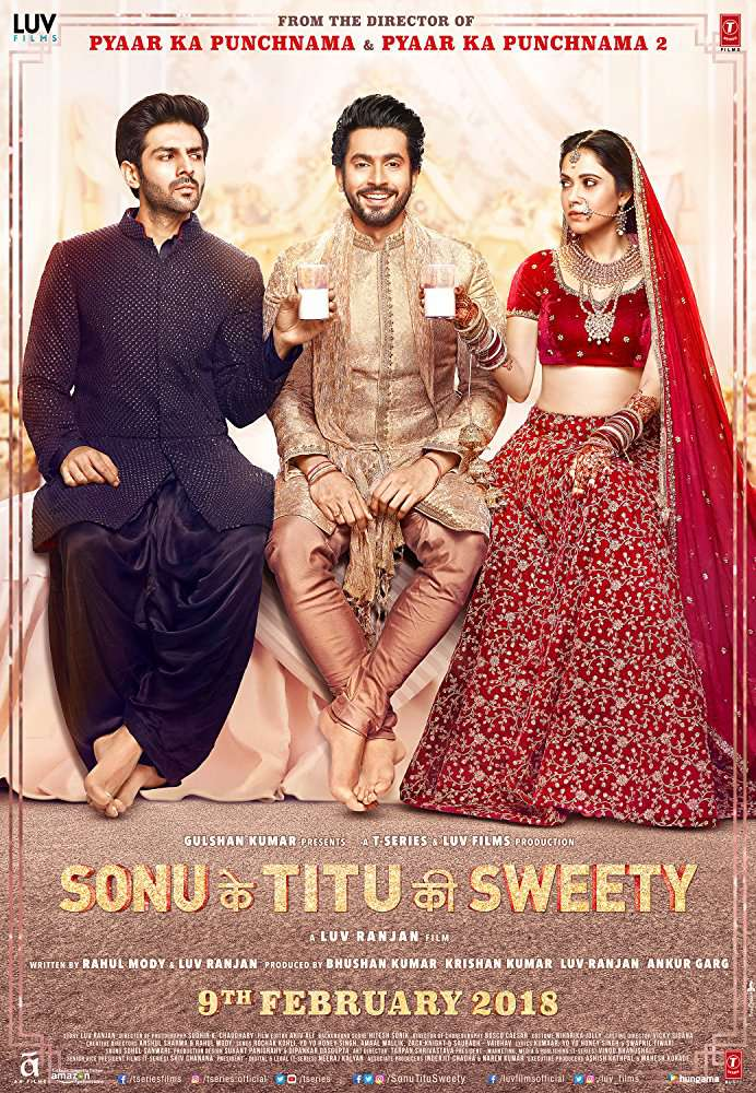 Sonu Ke Titu Ki Sweety (2018) Hindi WEB HD x264 AC 3 5.1 (UpmiX) 1.5GB ESubs-Movcr