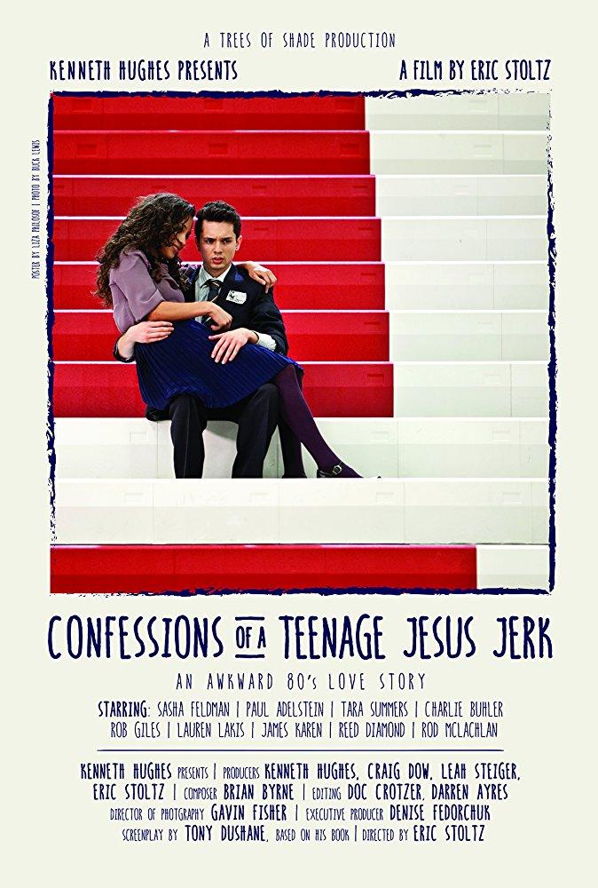 Confessions of a Teenage Jesus Jerk 2017 HDRip XviD AC3-EVO