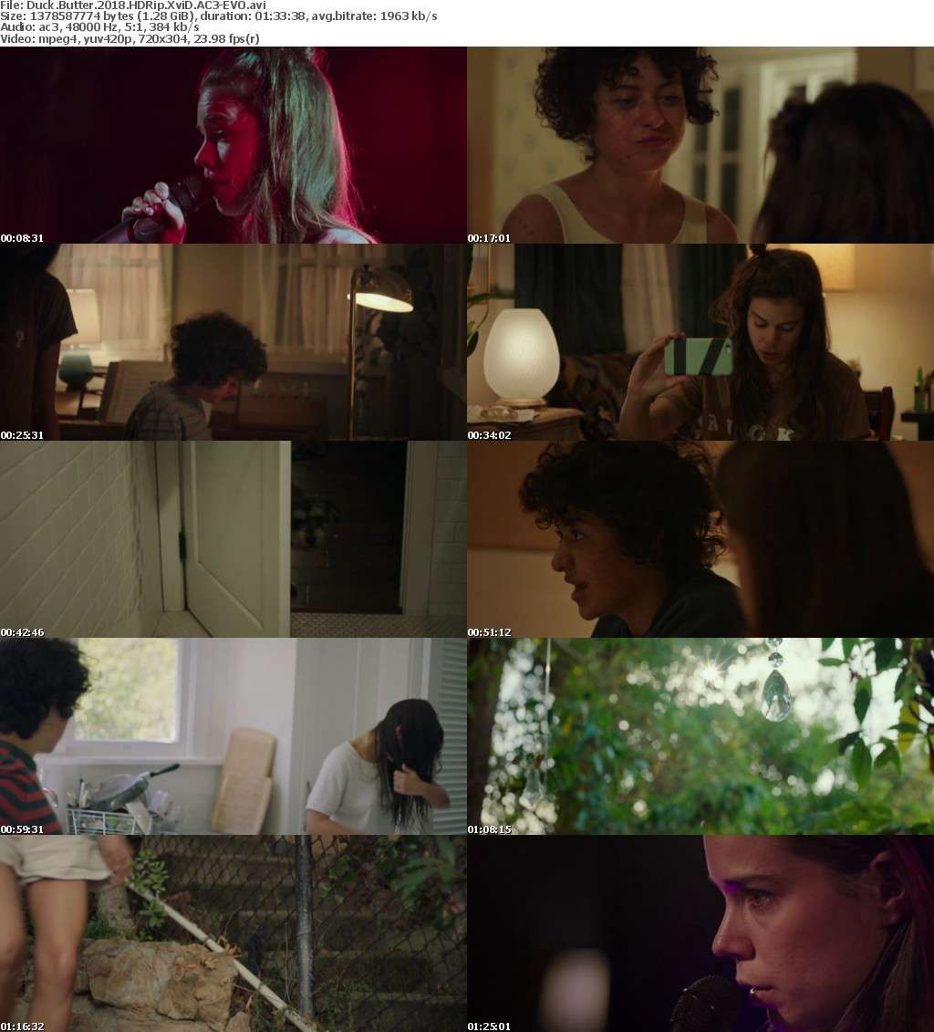 Duck Butter (2018) HDRip XviD AC3-EVO