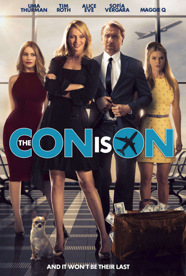 The Con Is On 2018 720p WEB-DL 2CH x265 HEVC-PSA