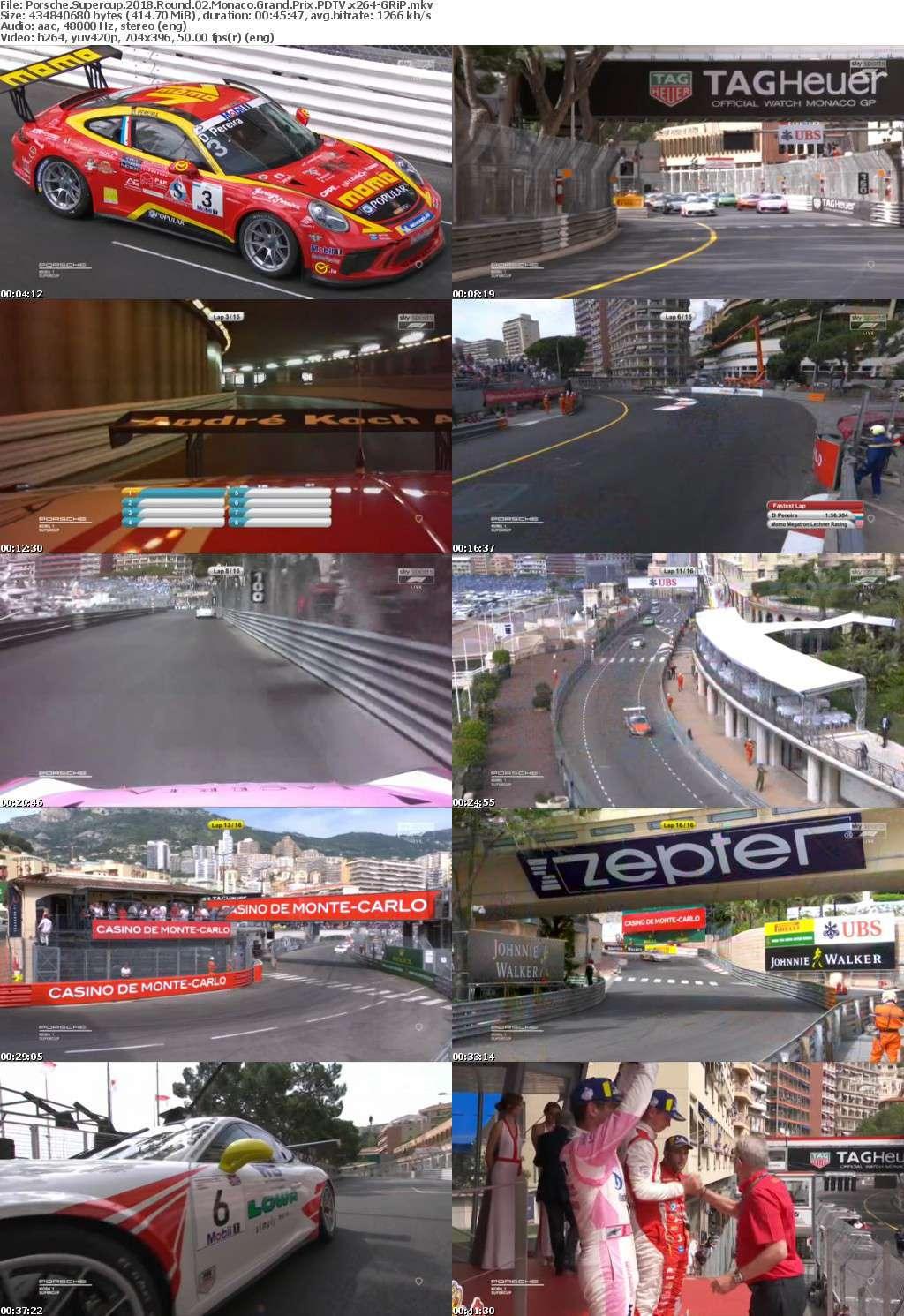 Porsche Supercup 2018 Round 02 Monaco Grand Prix PDTV x264-GRiP
