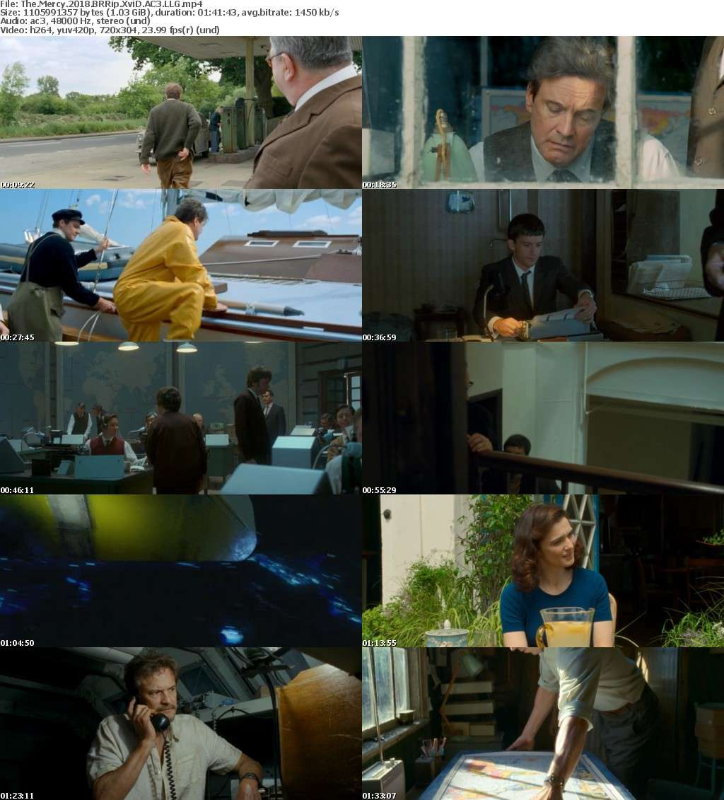 The Mercy (2018) BRRip XviD AC3 LLG