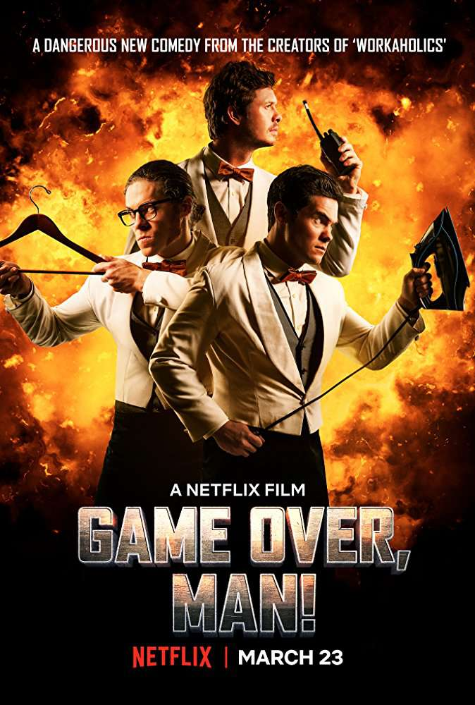 Game Over Man 2018 720p NF WEBRip DD5 1 x264-NTb