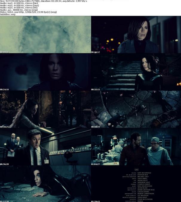 Underworld Awakening (2012) 720p BDRip x264 [Hindi+Tamil+Telugu+Eng]-MovCr