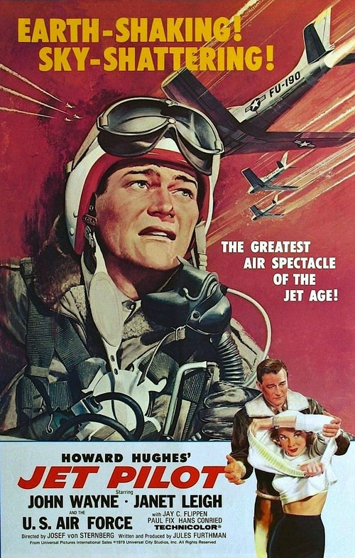 Jet Pilot 1957 COMPLETE BLURAY-UNTOUCHED