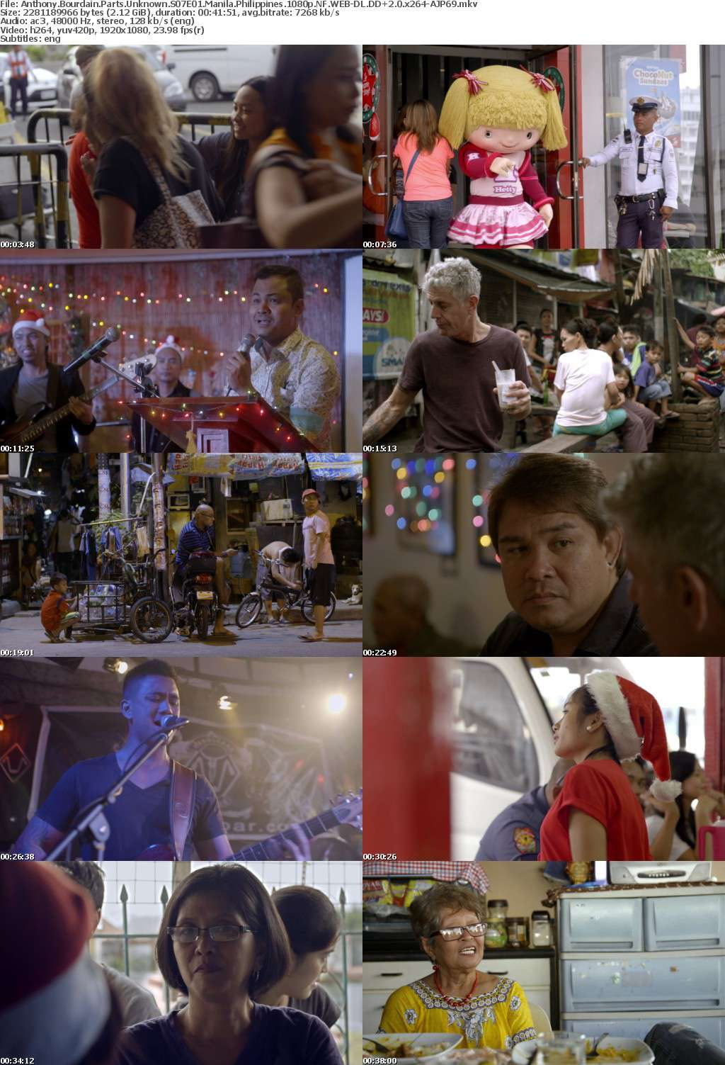 Anthony Bourdain Parts Unknown S07 1080p NF WEB-DL DDP2 0 x264-AJP69