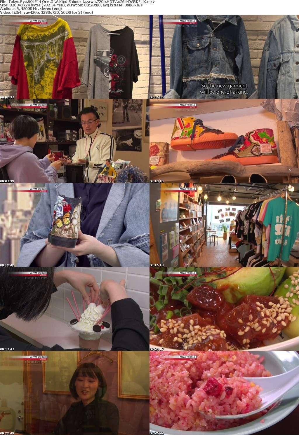 Tokyo Eye S04E14 One Of A Kind Shimokitazawa 720p HDTV x264-DARKFLiX