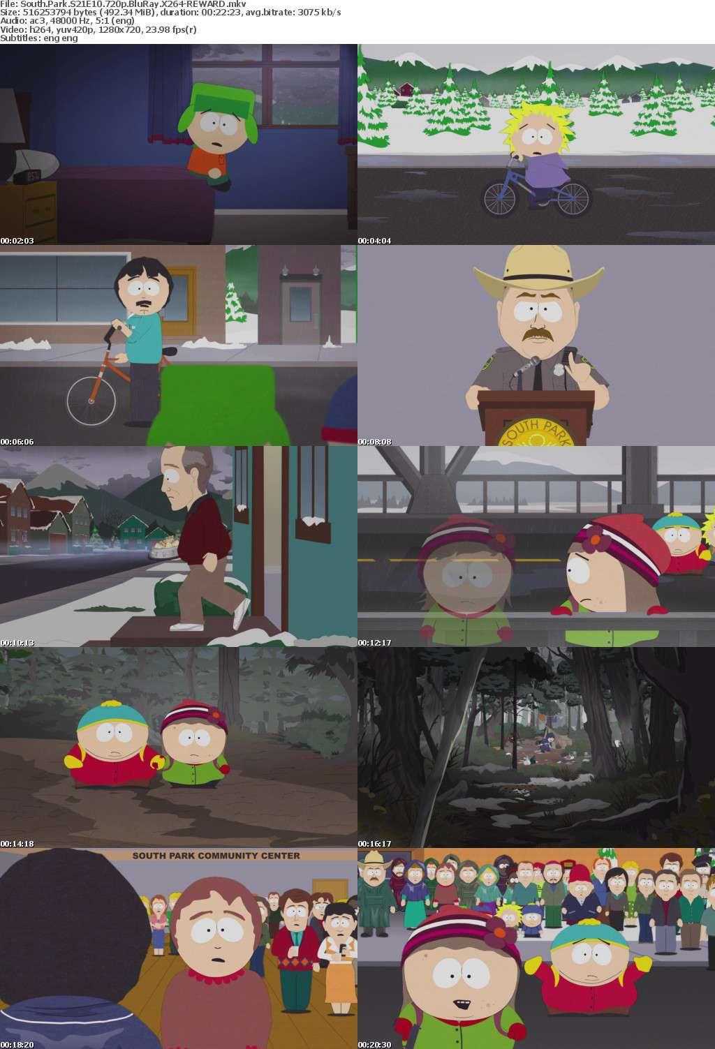 South Park S21 720p BluRay X264-REWARD
