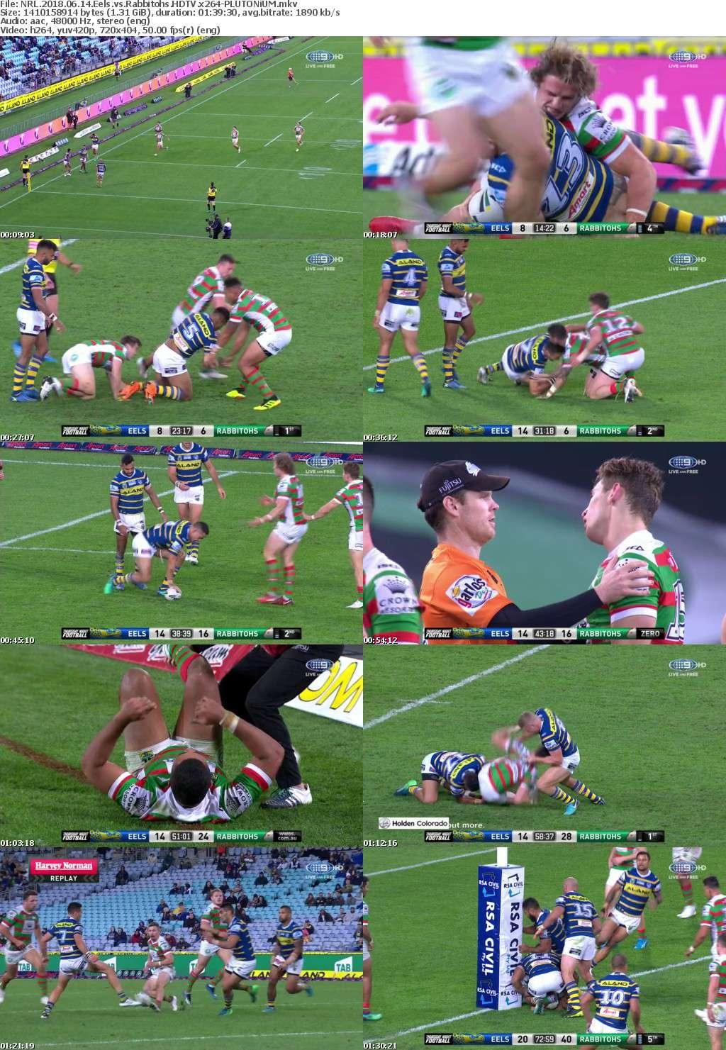 NRL 2018 06 14 Eels vs Rabbitohs HDTV x264-PLUTONiUM