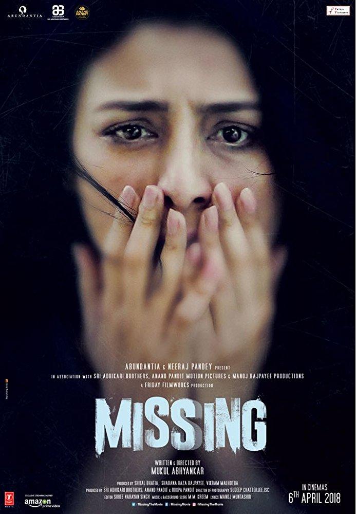 Missing 2018 Hindi 720p HQ~WEBRip-X264-5 1-Zi$t