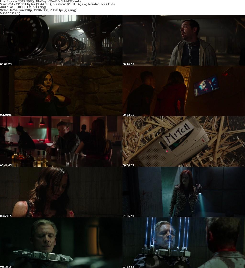 Jigsaw (2017) 1080p BluRay x264 DD 5.1-M2Tv