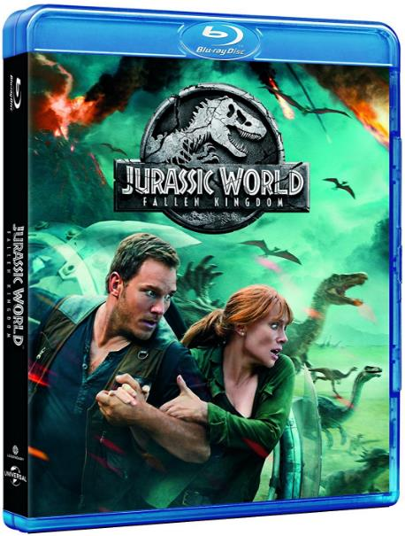 Jurassic World Fallen Kingdom (2018) 1080p BluRay x264 Dual Audio Hindi DTS 6 CH - English DTS 6 CH ESub MW