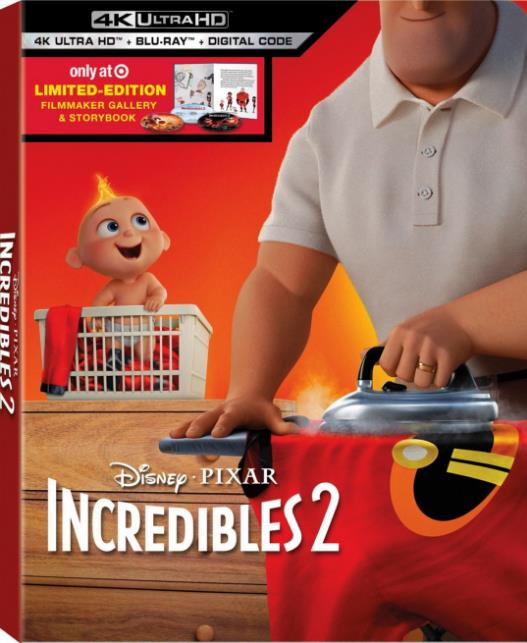 Incredibles 2 (2018) 720p BDRip (ORG Dual Audio) Hindi 2.0 + English 5.1 AVC AC3 ESubs-Sun George