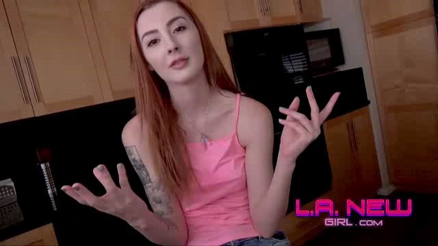LANewGirl 18 06 02 Megan 2 Modeling Audition Sex Talk XXX