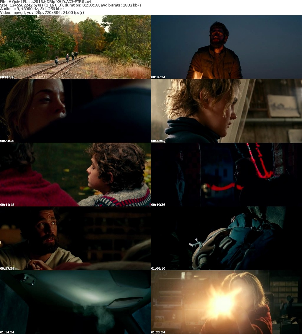 A Quiet Place (2018) HDRip XViD AC3-ETRG