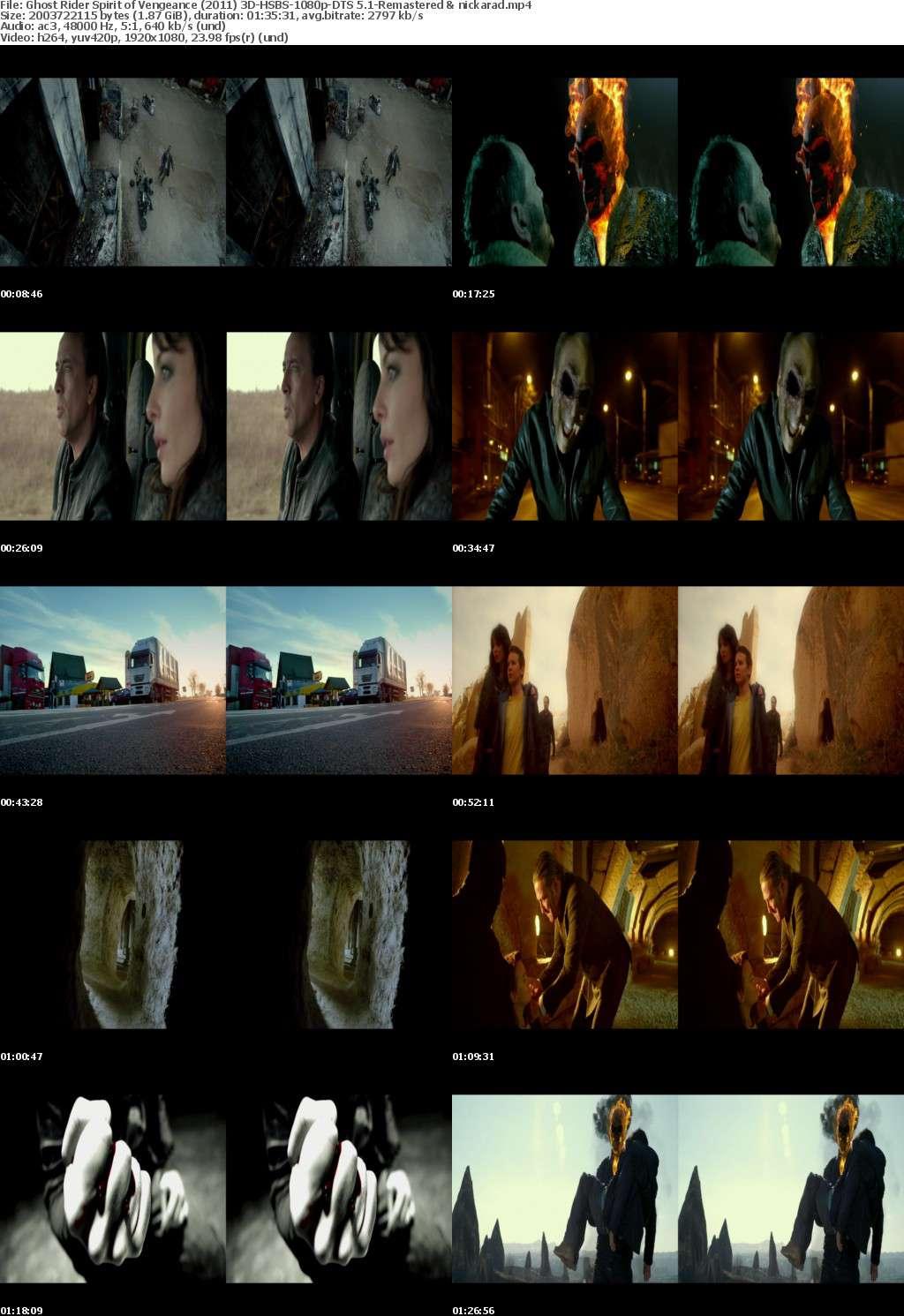 Ghost Rider Spirit of Vengeance (2011) 3D HSBS 1080p BluRay AC3 (DTS 5.1)-Remastered-nickarad