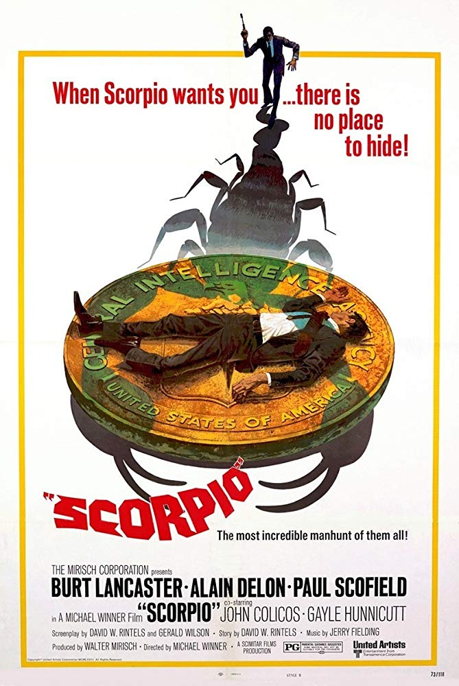 Scorpio (1973)-Alain Delon-1080p-H264-AC 3 (DTS 5 1)-Eng Audio- Remastered nickarad