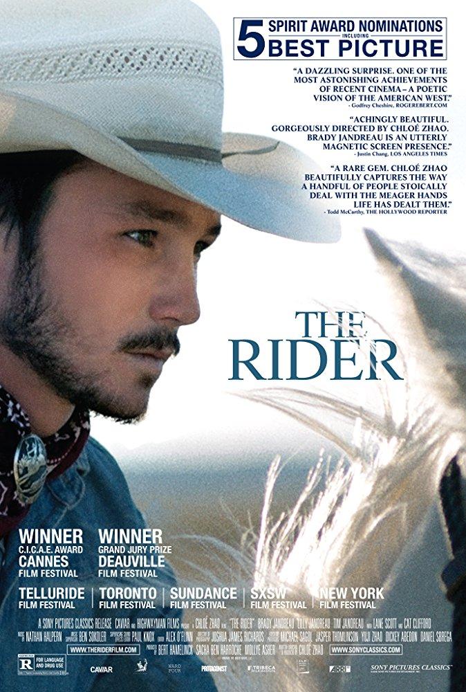 The Rider 2017 HDRip XviD AC3-EVO