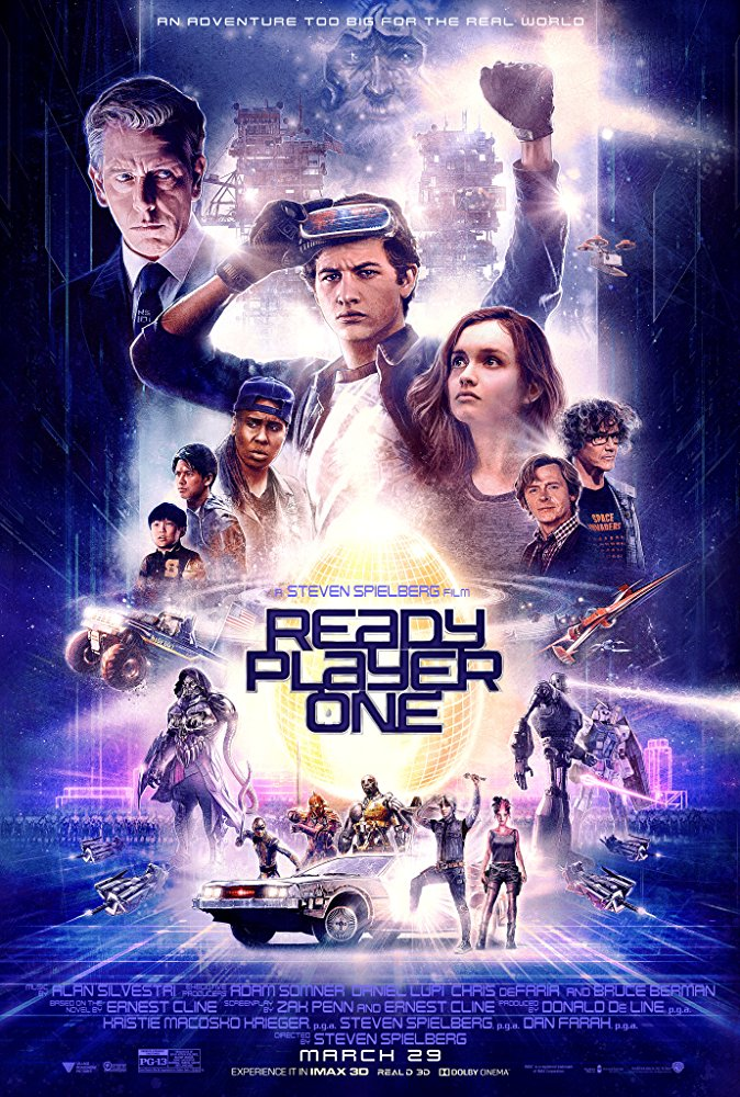 Ready Player One (2018) BluRay 720p 1GB x264 Ganool