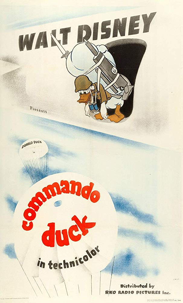 Commando Duck (1944) 1080p BluRay H264 AC 3 Remastered-nickarad