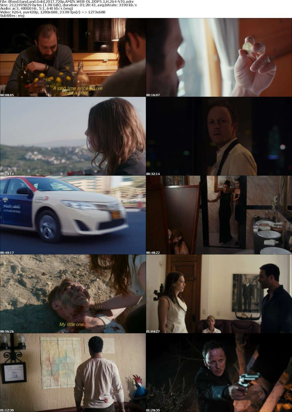 Blood Sand and Gold (2017) 720p AMZN WEB-DL DDP5 1 H 264-NTG