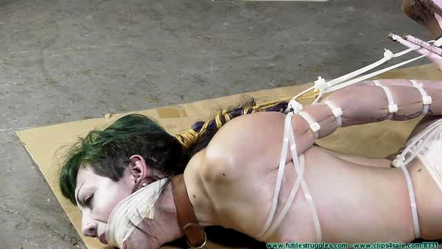 FutileStruggles Vesper Leashed Paraded Strung Up And Then Hogzipped-Part 3 XXX
