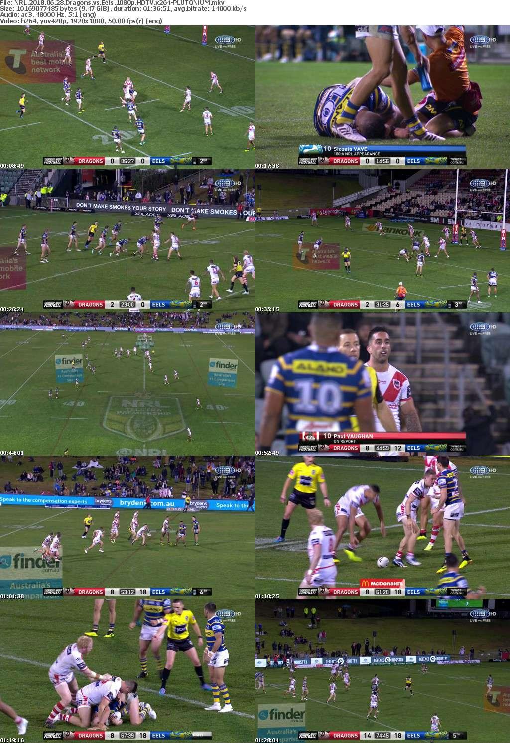 NRL 2018 06 28 Dragons vs Eels 1080p HDTV x264-PLUTONiUM
