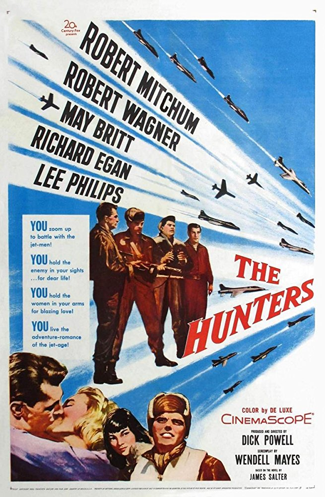 The Hunters 1958 480p x264-mSD
