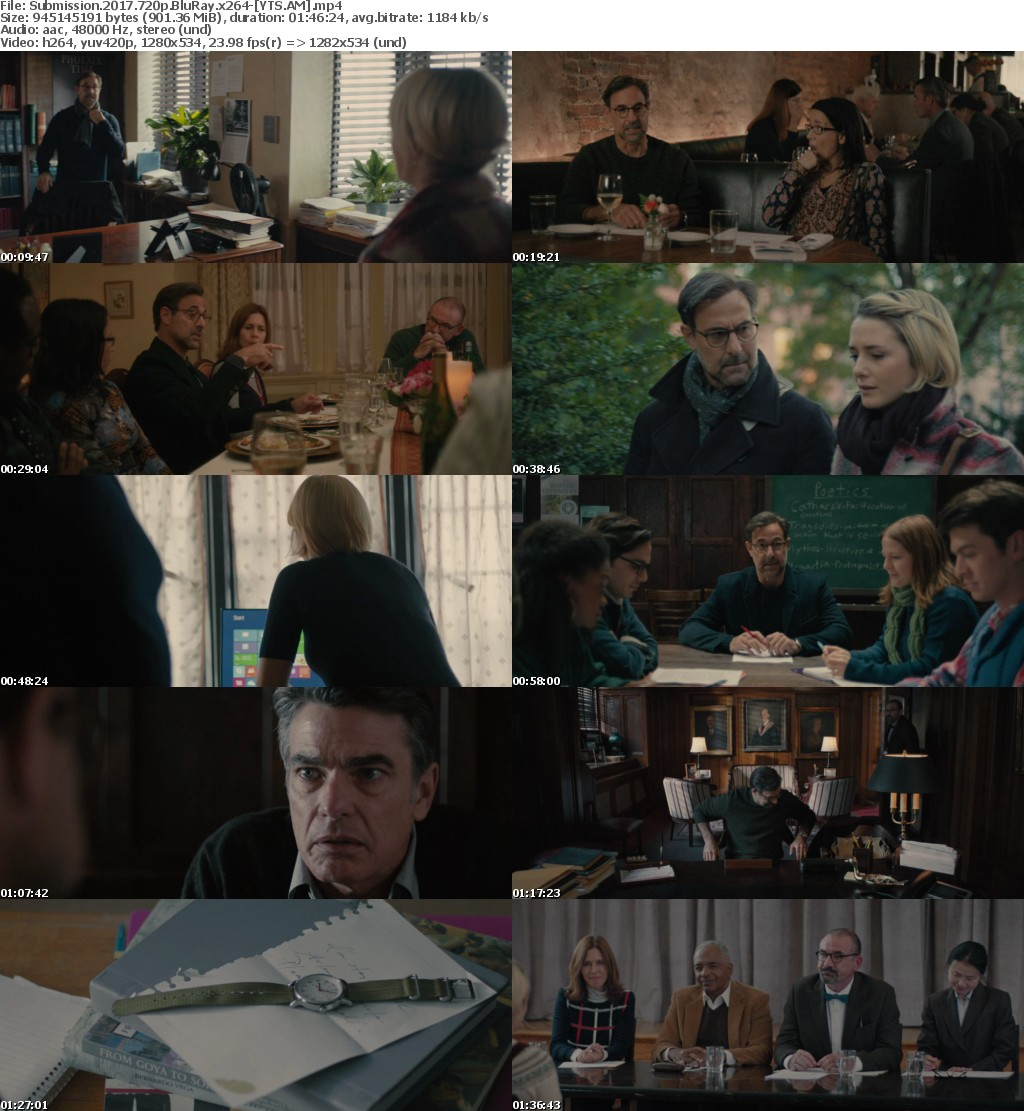 Submission (2017) [BluRay] [720p] YIFY