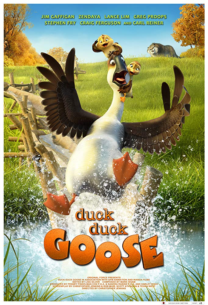 Duck Duck Goose 2018 Movies 720p HDRip x264 AAC with Sample