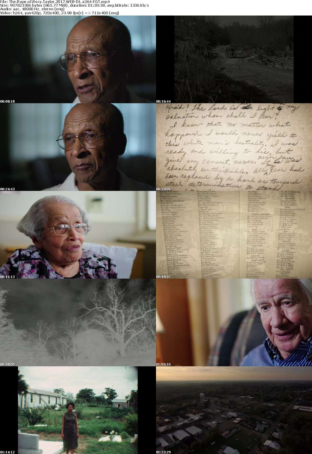 The Rape of Recy Taylor 2017 WEB-DL x264-FGT