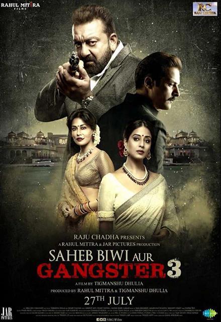 Saheb Biwi Aur Gangster 3 (2018) Hindi Pre CAMRip x264 700MB-DLW