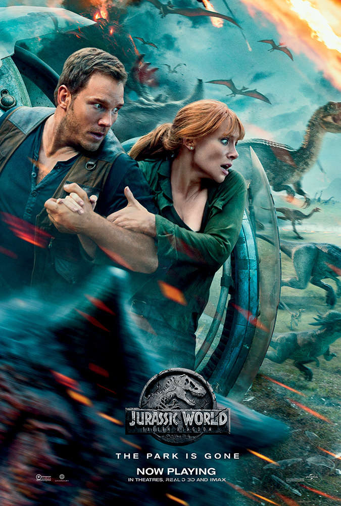 Jurassic World Fallen Kingdom 2018 V2 HC HDRip XviD AC3-EVO