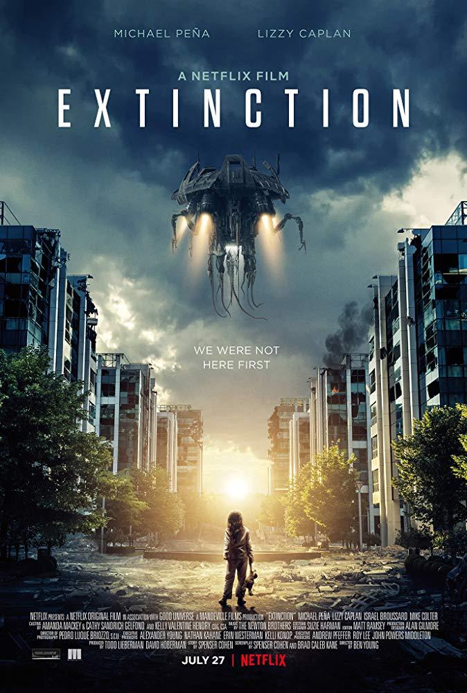 Extinction 2018 720p WEB-DL x264 ESub [MW]