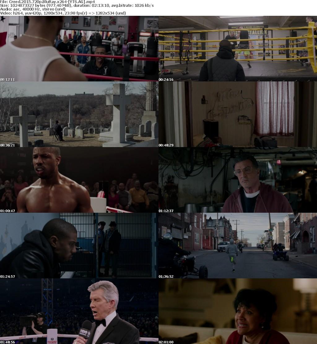 Creed (2015) [BluRay] [720p] YIFY
