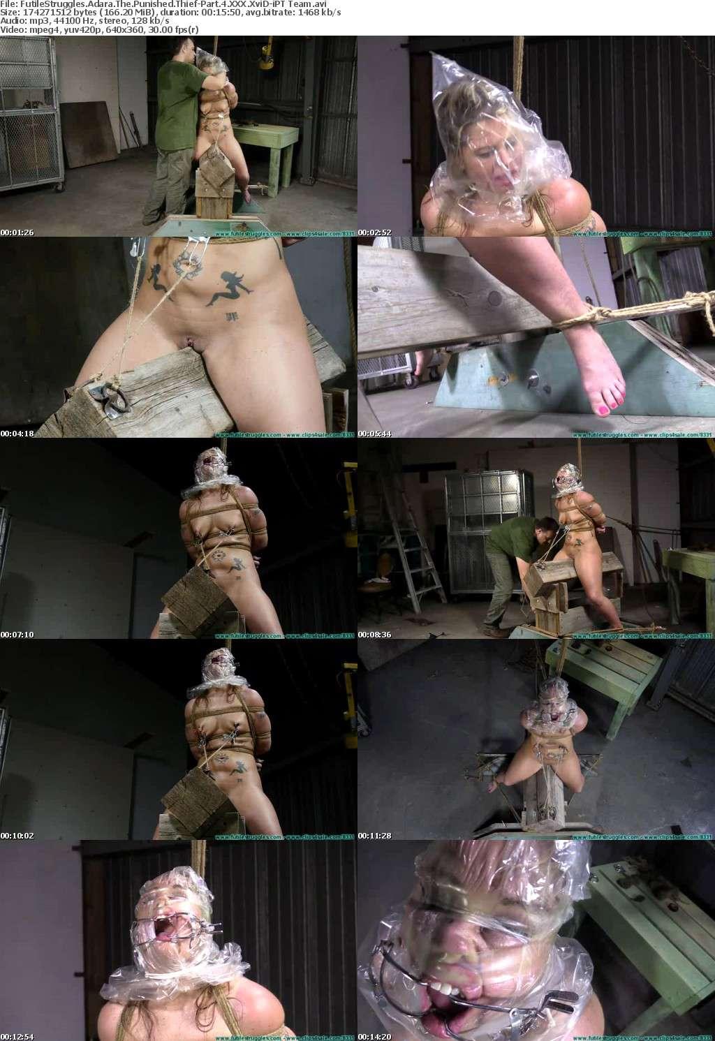 FutileStruggles Adara The Punished Thief-Part 4 XXX