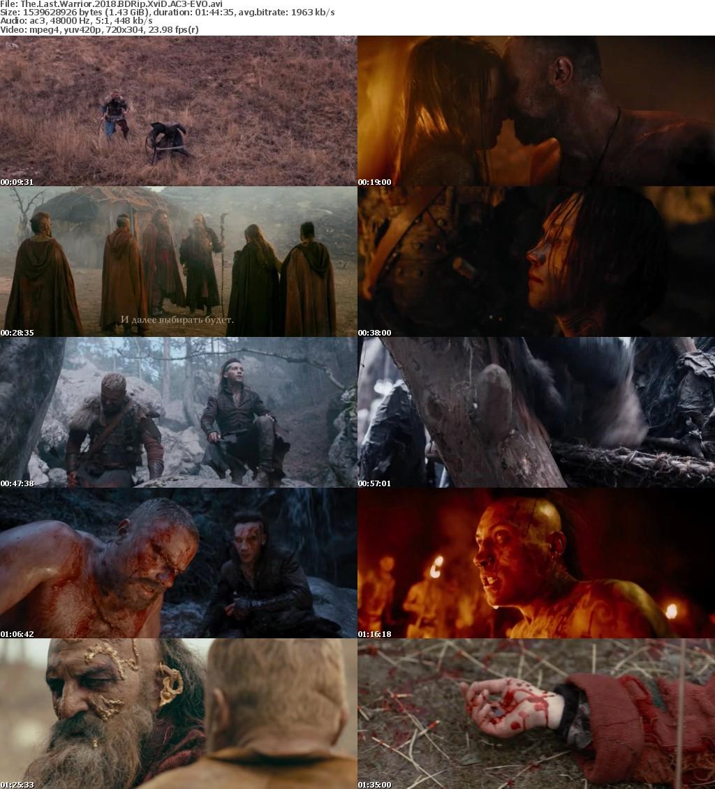 The Last Warrior (2018) BDRip XviD AC3-EVO