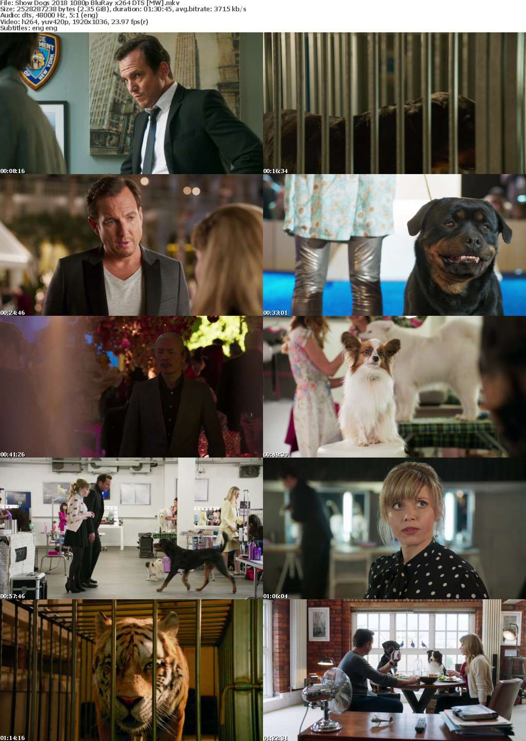 Show Dogs (2018) 1080p BluRay x264 DTS MW