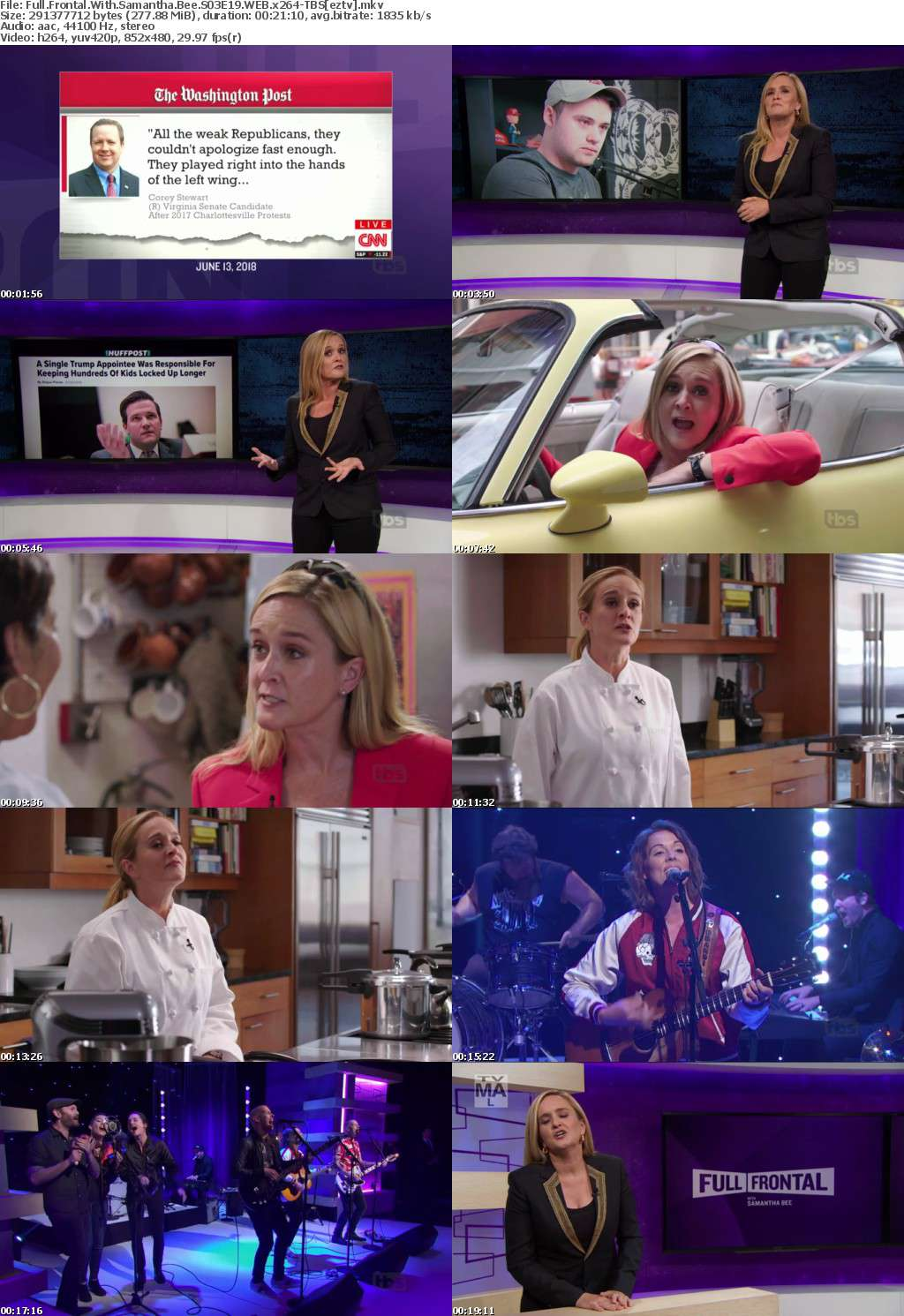 Full Frontal With Samantha Bee S03E19 WEB x264-TBS