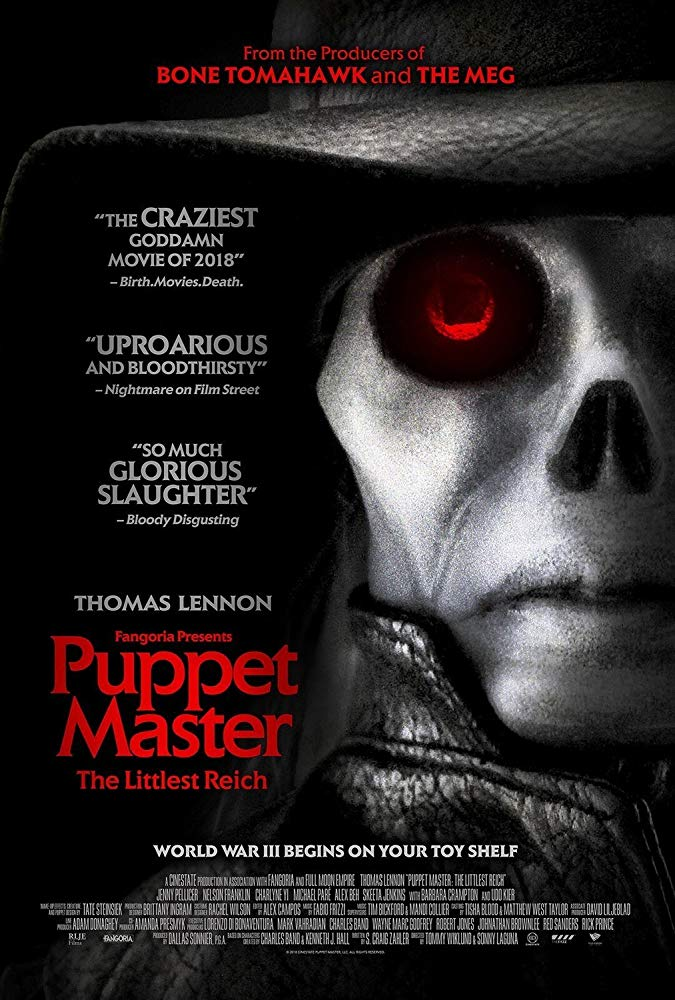 Puppet Master The Littlest Reich 2018 HDRip AC3 X264-CMRG