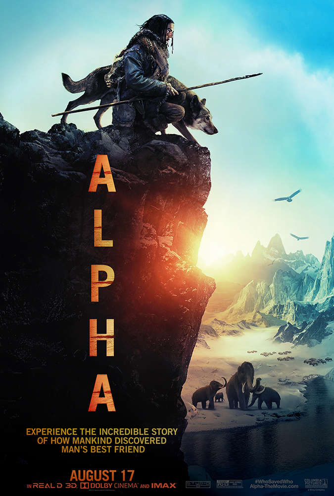 Alpha (2018) 1GB CAM Rip x264 AAC-DTOne 10th Anniversary