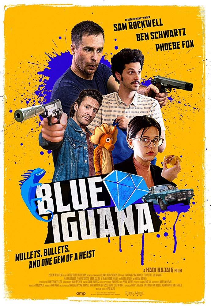 Blue Iguana 2018 HDRip XviD-AVID
