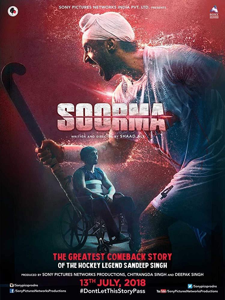 Soorma (2018) Hindi 1CD PDVDrip x264 700MB - TAMILROCKERS