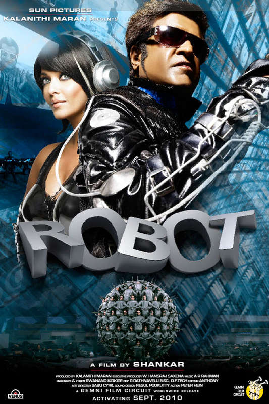 Robot 2010 BRRip Hindi 720p x264 AAC 5 1 ESub - mkvCinemas