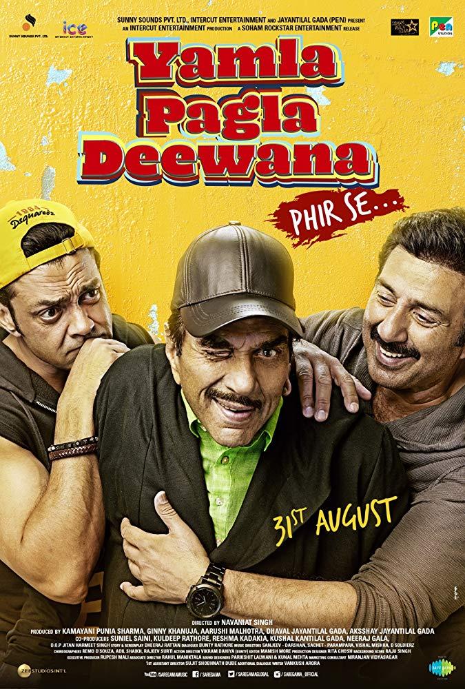 Yamla Pagla Deewana Phir Se 2018 Hindi Desi Pre DvD Rip x264 AAC ExDesi Exclusive