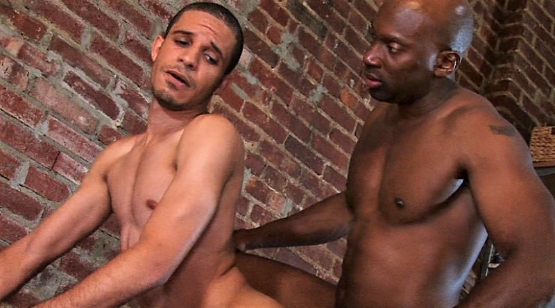 Take That Black Dick White Boy: Champ Robinson & Cesar Alvarez (TIM Fuck)