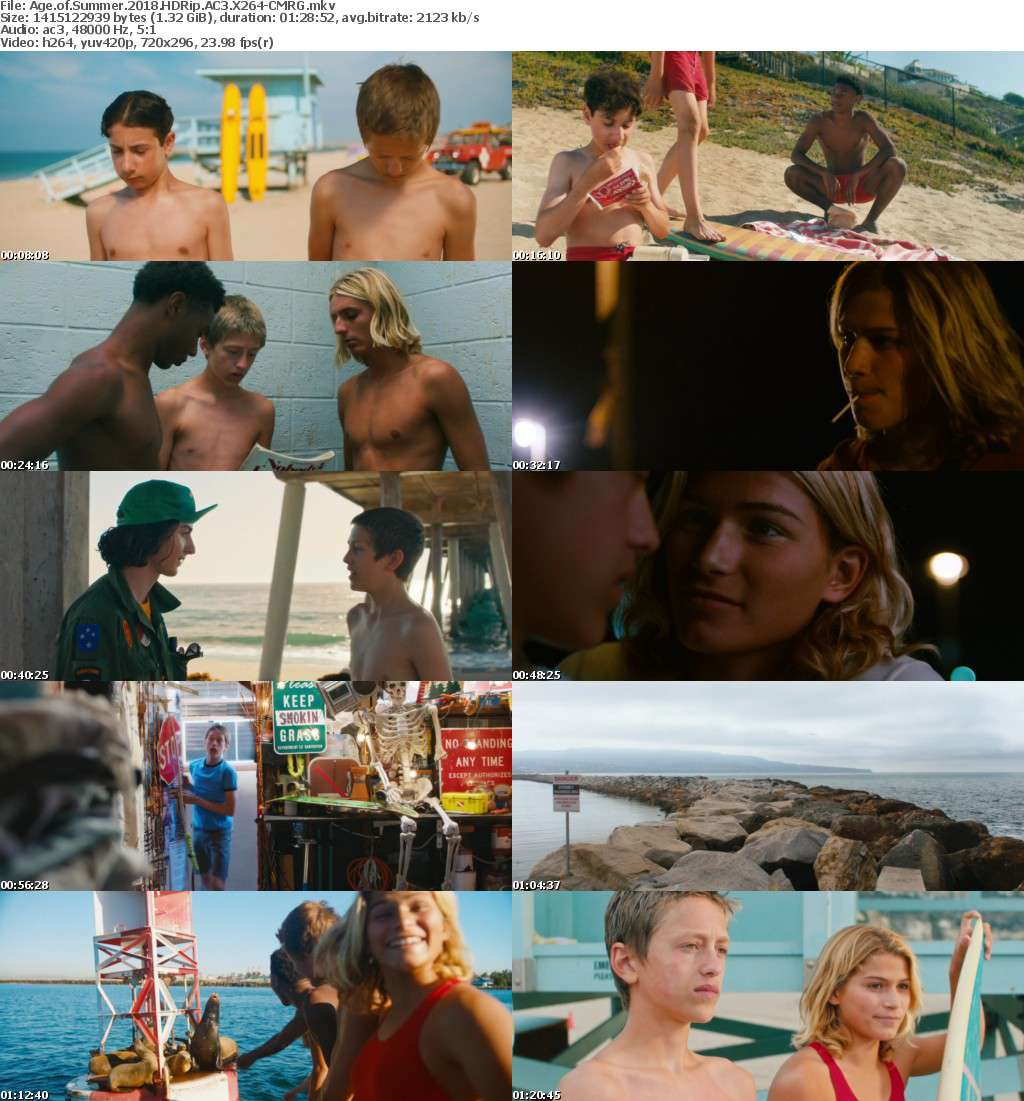 Age of Summer (2018) HDRip AC3 X264-CMRG