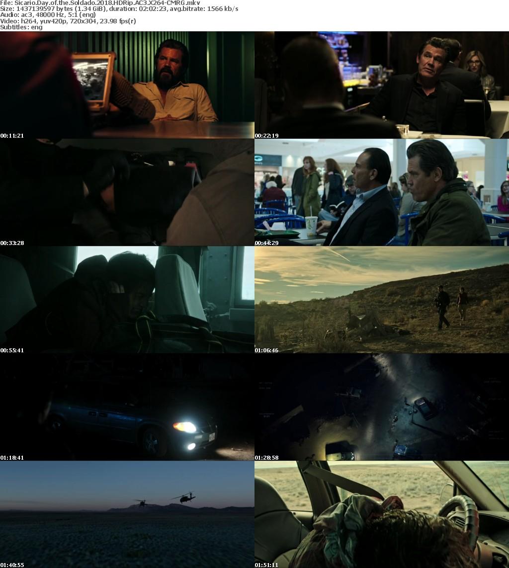 Sicario Day of the Soldado (2018) HDRip AC3 X264-CMRG